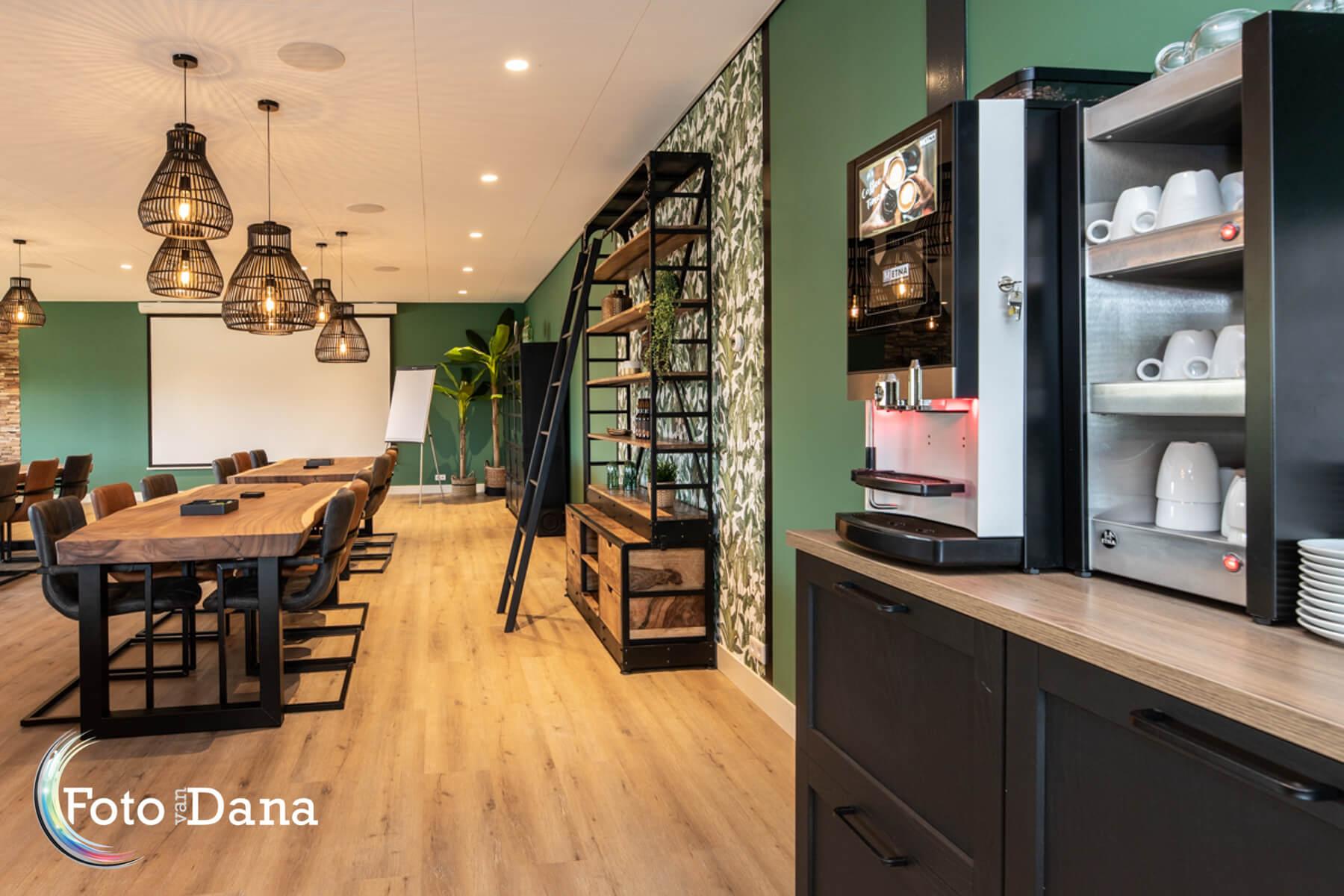 verhuur ruimte vergaderingen, workshops, presentaties met goede koffiemachine