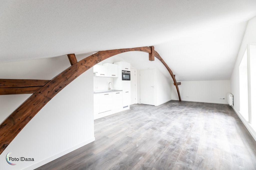 appartement met oude balk Harmonie Alkmaar